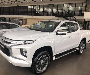Cần bán xe Mitsubishi Triton AT Mivec năm sản xuất 2019, màu trắng, giá thanh lý