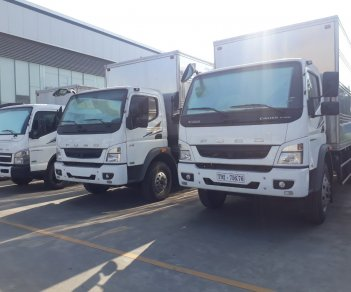 Bán xe tải Fuso 6 tấn Fuso FA140 thùng dài 5.9 mét tại Hải Phòng