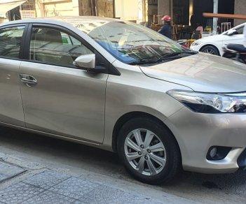 Cần bán xe Toyota Vios G 2017, màu bạc, còn mới, giá 475tr