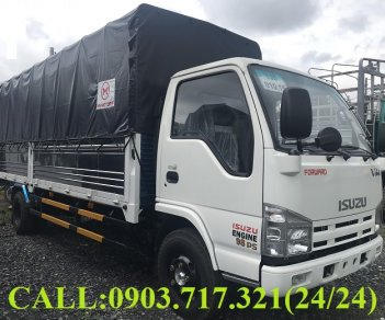 Xe tải Isuzu VM 1T9 thùng dài 6m2 | Xe tải Vĩnh Phát VM 1.9T thùng dài 6m2