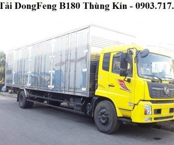 Bán xe tải Dongfeng B180 7T5 thùng kín dài 9m7 mới 2019 giao ngay giá tốt
