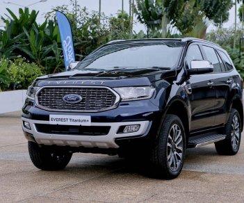 Bán Ford Everest đời 2021, màu đen, nhập khẩu chính hãng