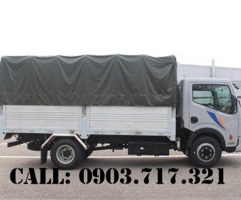 Xe tải Vinamoto Nissan1t99 thùng mui bạt dài 4m3 (Nissan Cabstar NS200)
