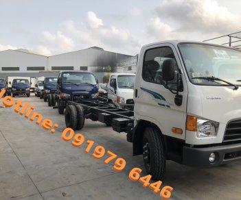 Bán ô tô Hyundai Mighty 110XL thùng dài 6,3m 2021, màu trắng