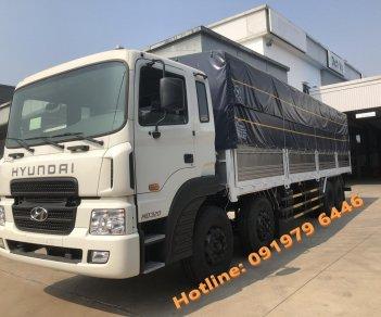 Bán ô tô Hyundai HD320-18 tấn màu trắng, xe nhập