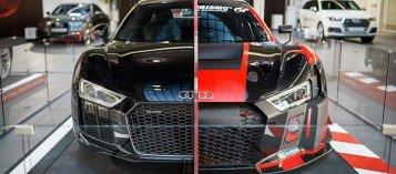 Chiêm ngưỡng chiếc siêu xe Audi R8 'cưa đôi' duy nhất trên thế giới