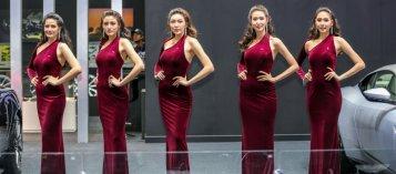 Những bóng hồng xinh đẹp tại Triển lãm Ô tô Bangkok 2018