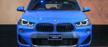 Xuất hiện hình ảnh BMW X2 đầu tiên cập bến Việt Nam