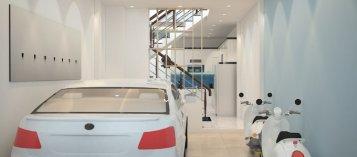 4 vị trí để ô tô trong nhà giữ an toàn cho cả gia đình