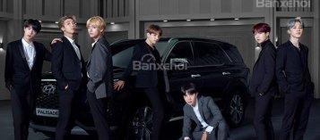 Hyundai mời nhóm nhạc nam Hàn Quốc BTS làm đại sứ cho Palisade