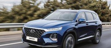Hyundai Santa Fe 2019 trang bị công nghệ mở khóa vân tay hiện đại
