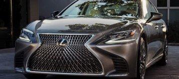Lexus Việt Nam triệu hồi LS500, nghi lỗi phần mềm