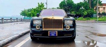 Rolls-Royce Phantom mạ vàng được rao bán tại Hà Nội với mức giá 15,5 tỷ đồng
