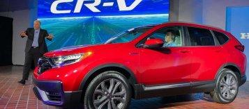 Honda CR-V 2020 ra mắt tại Mỹ với nhiều trang bị mới