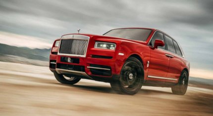 13 mẫu xe hơi SUV siêu sang với mức giá đắt đỏ