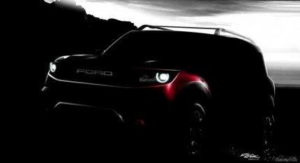 SUV mới của Ford lần đầu rò rỉ ảnh chính thức