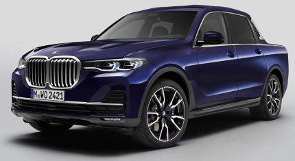BMW bất ngờ giới thiệu phiên bản bán tải của X7, chỉ sản xuất một chiếc trên toàn cầu